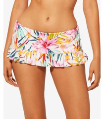 bleu by rod beattie beachy keen skirted hipster bikini bottoms women's swimsuit