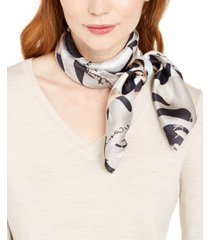 vince camuto rose shadow signature silk square scarf