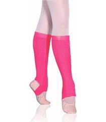 polaina ballet infantil sã³ danã§a acrilica - pink - dafiti