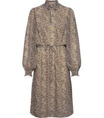 bettiekb dress knälång klänning beige karen by simonsen