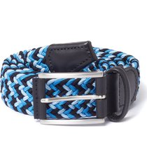 anderson's belt elastic woven belt | blue | b667-b1