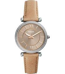 reloj fossil para mujer - carlie  es4343