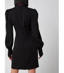 de la vali women's pachino dress - black - uk 12