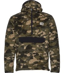 m cmpshr po hdie hoodie trui groen the north face