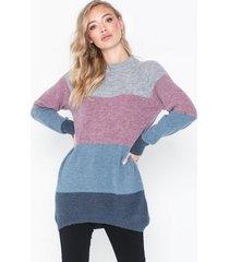 moss copenhagen ellen alpaca stripe pullover stickade tröjor