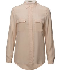 athalie blouse lange mouwen roze custommade