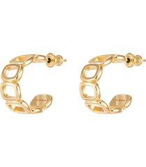 'toy' hoop earrings