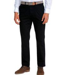 pantalón casual negro guy laroche