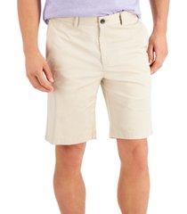 alfani men's solid chino shorts, created for macy's