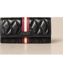 bally wallet dinney continental bally wallet in quilted leather with trainspotting