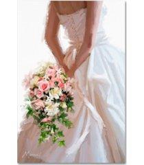"the macneil studio 'wedding dress' canvas art - 30"" x 47"""