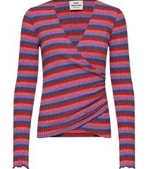 super stripe tamolly t-shirts & tops knitted t-shirts/tops multi/mönstrad mads nørgaard
