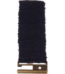 semicouture erika cavallini elasticated belt