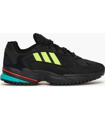 adidas originals yung-1 trail sneakers black