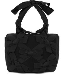 chanel pre-owned 1985/93 party tote - black