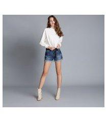 lez a lez - shorts jeans sunset cinto jeans