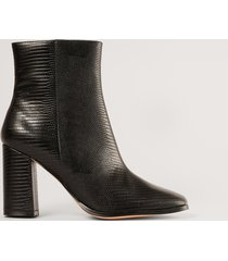 na-kd shoes boots - black