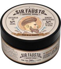 pomada forte para cabelo sir fausto - old wax 200g
