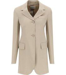 sportmax wool blend blazer
