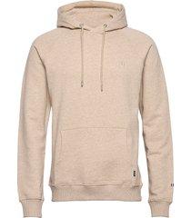 calais hoodie hoodie trui beige les deux