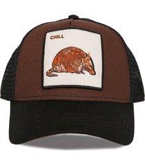 gorra marrón trown headware chill