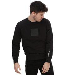 mens embroidered logo sweatshirt