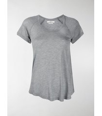 isabel marant étoile lightweight u-neck t-shirt