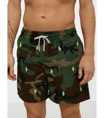 polo ralph lauren traveler swim shorts badkläder multi