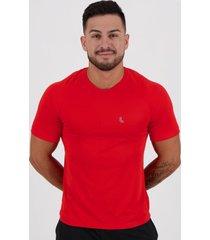 camiseta lupo basic logo vermelha