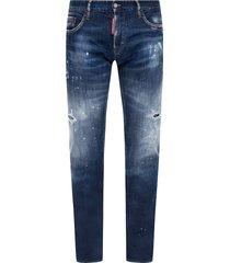'straight leg sharpei jean' jeans