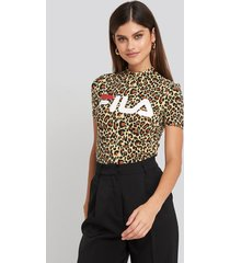 fila every turtle tee - beige,multicolor