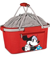 oniva by picnic time disney's minnie mouse metro basket collapsible cooler tote