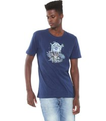 camiseta ...lost grave azul-marinho - azul marinho - masculino - dafiti