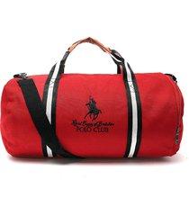 maletín rojo-azul-blanco royal county of berkshire polo club