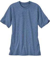 t-shirt met halflange mouw, jeansblauw-gemêleerd 5