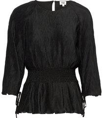 lovisa blouse blouse lange mouwen zwart twist & tango