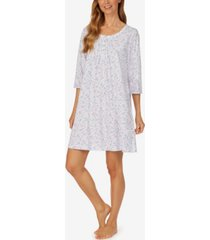 women's short 3/4 sleeve nightgown