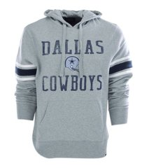 '47 brand men's dallas cowboys double-block hoodie sweatshirt