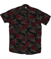 camisa negra lava girasol