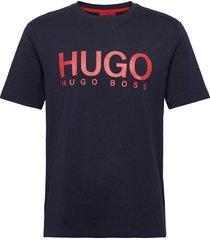 dolive204 t-shirts short-sleeved blå hugo