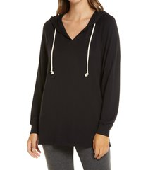 women's lou & grey signature soft hooded tunic