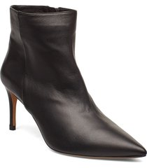 palma shoes boots ankle boots ankle boots with heel svart pura lopez