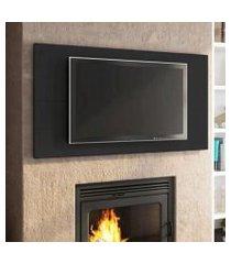 painel para tv até 55 polegadas madesa - preto preto