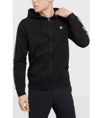 jack & jones jcodevil sweat zip hood tröjor svart