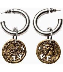 acne studios coin earring c5019