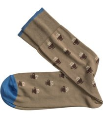johnston & murphy coffee socks