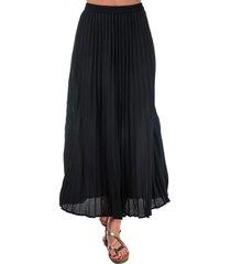 womens phoebe long plisse skirt