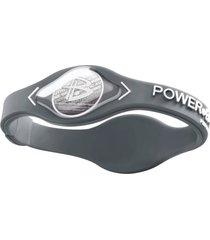 pulseira power balance core cinza/branco