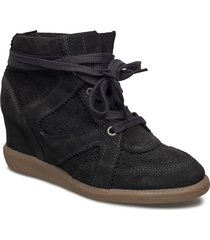 vibe shoes boots ankle boots ankle boots with heel grå pavement