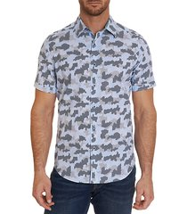 abstract short-sleeve shirt